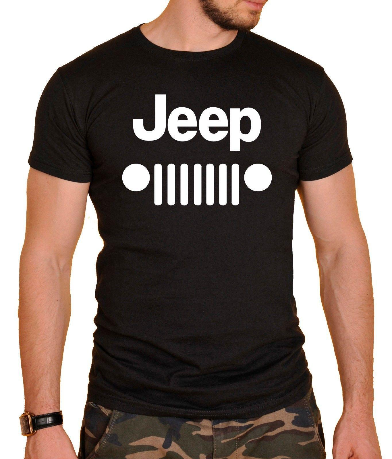 Jeep Logo Cars T-Shirt At