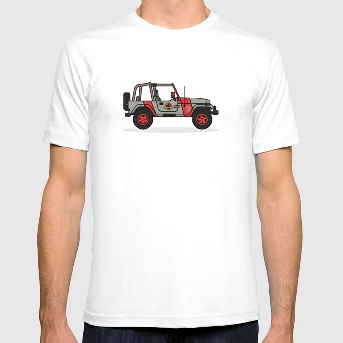 Jurassic Park Jeep T-Shirt At