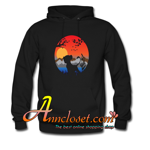 The Lion King of Kind Animal Hoodie At