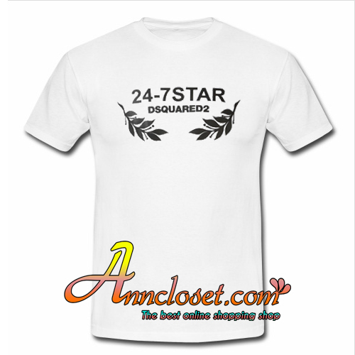 24-7 Star Dsquared2 T-Shirt At