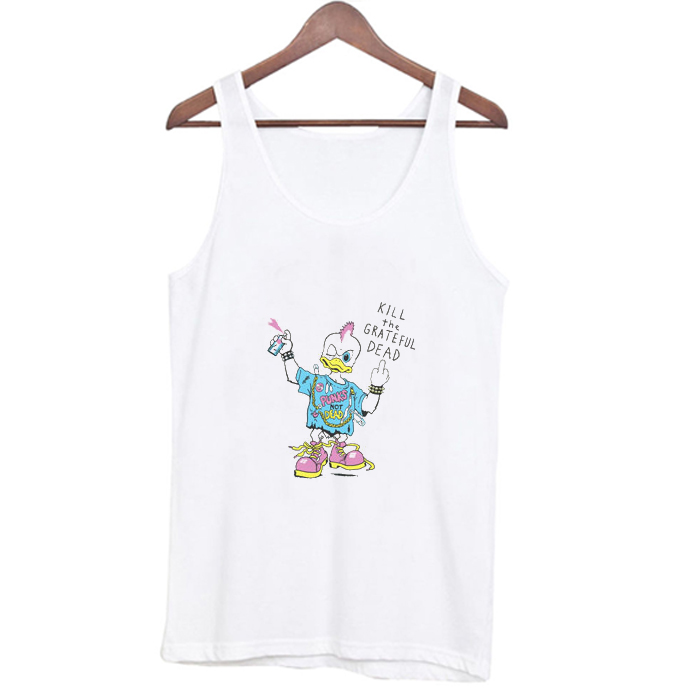 Kill The Grateful Dead as worn by Kurt Cobain Tank Top At