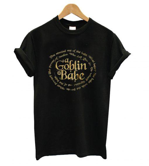 A Goblin Babe Men's Labyrinth T shirt SFA