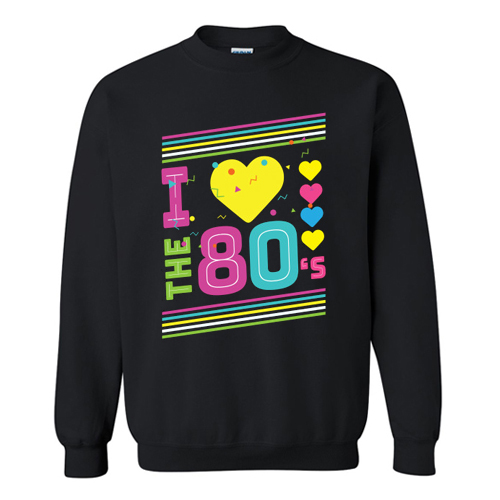 Love The 80s Apparel Disco Sweatshirt At
