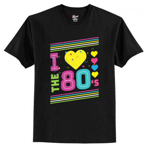 Love The 80s Apparel Disco T-Shirt At