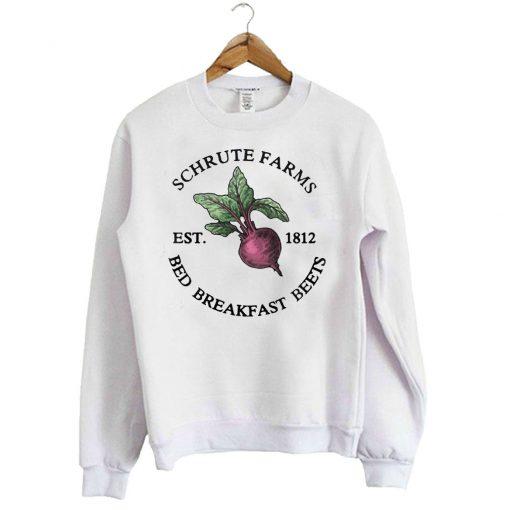 Schrute Farms Est 1812 Crewneck Sweatshirt SFA