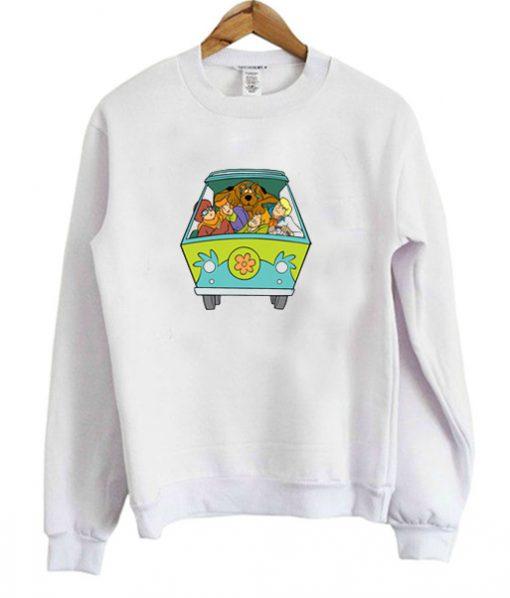 Scooby Doo Mystery Machine Sweatshirt SFA