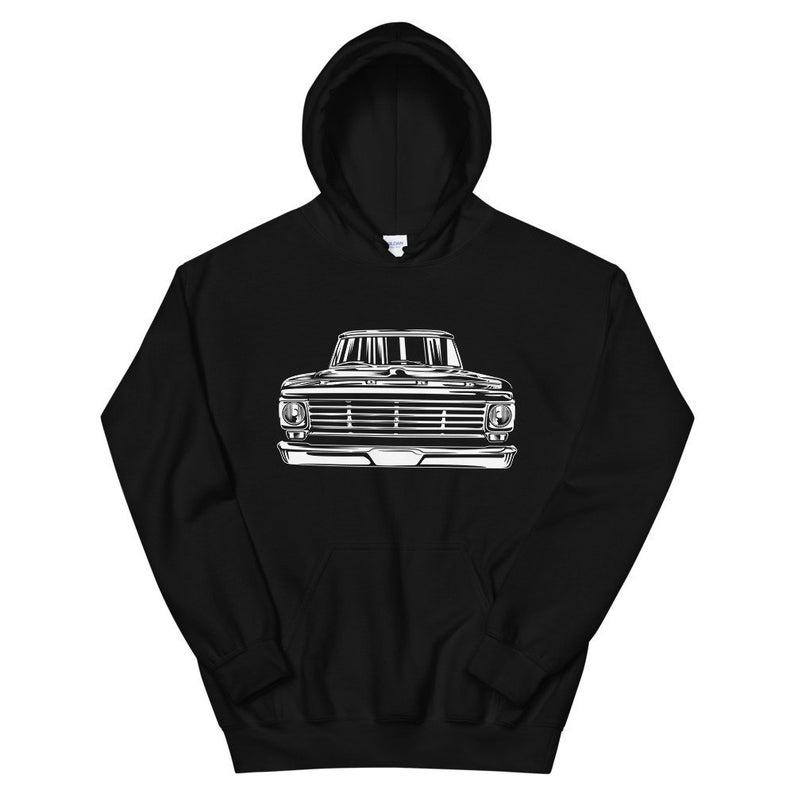 67 Ford f100 classic pickup Truck Hoodie SFA