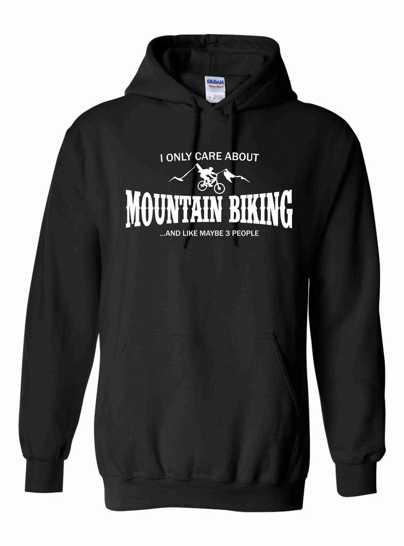 I only care about mountain biking... Hoodie SFA