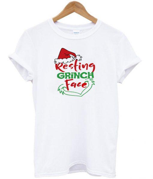 Resting Grinch Face T-Shirt SFA