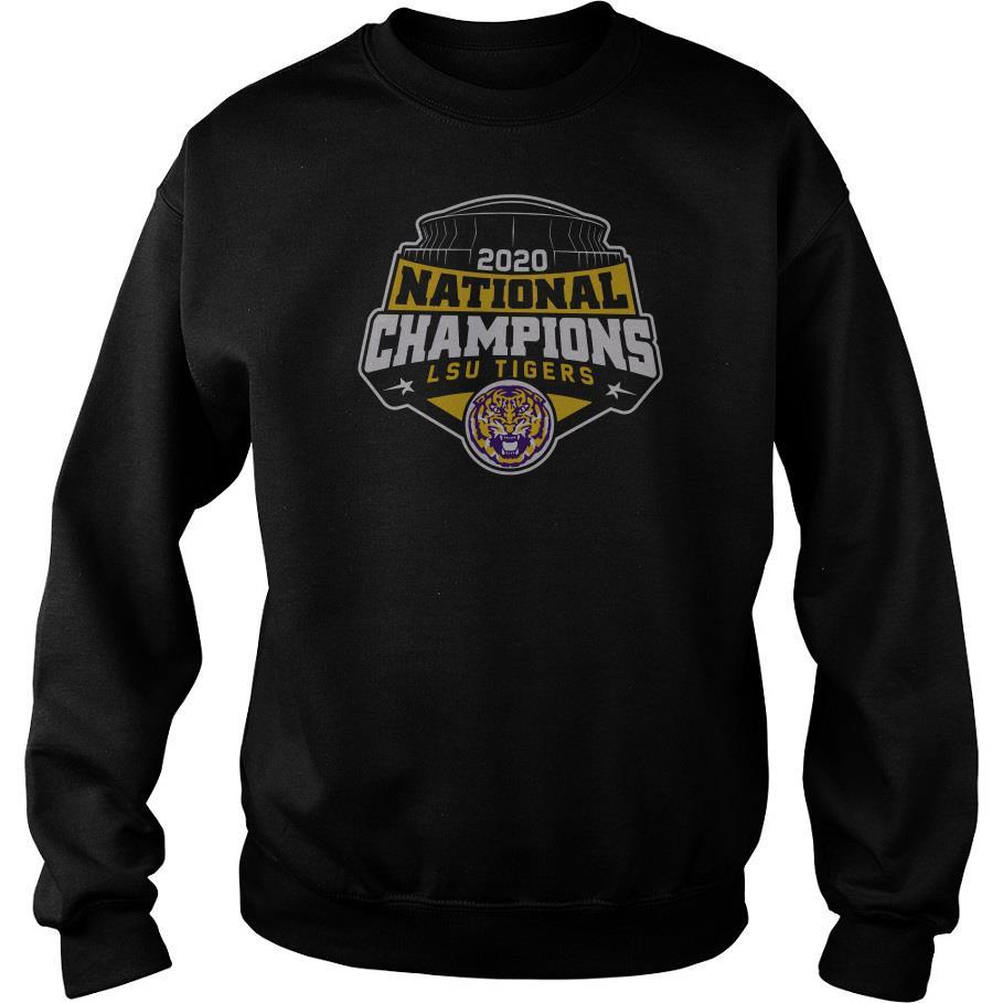 2020 National Champions LSU Tigers Sweatshirt SFA