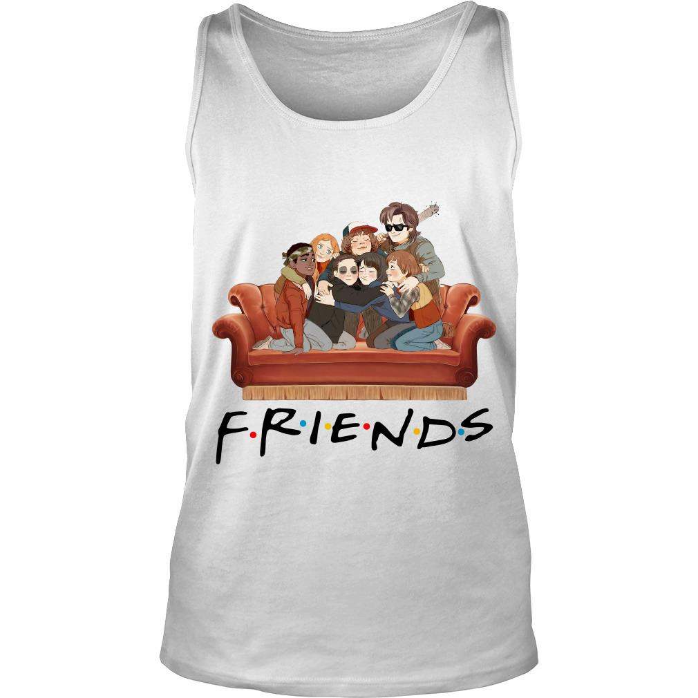 Stranger Things Characters Tv Show Friends Tank Top SFA