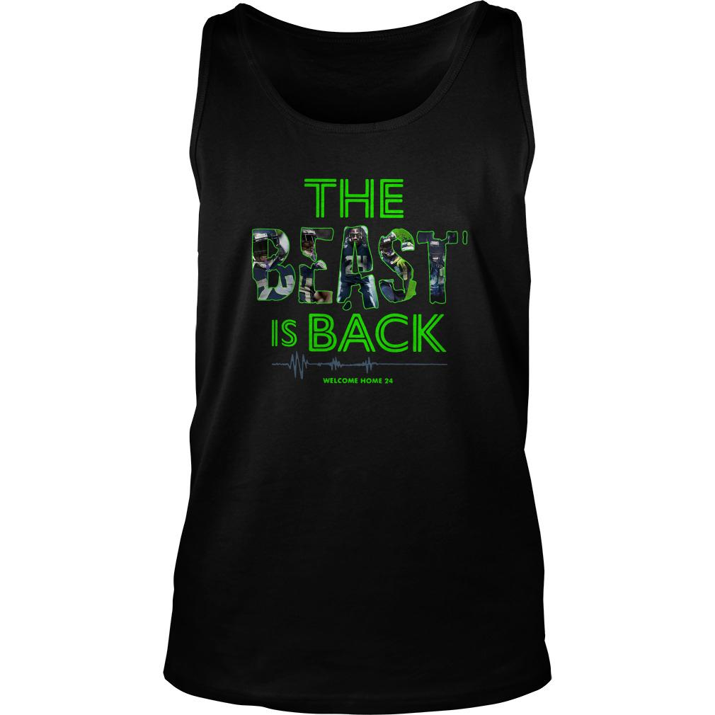 The Beast Is Back Welcome Home 24 Tank Top SFA
