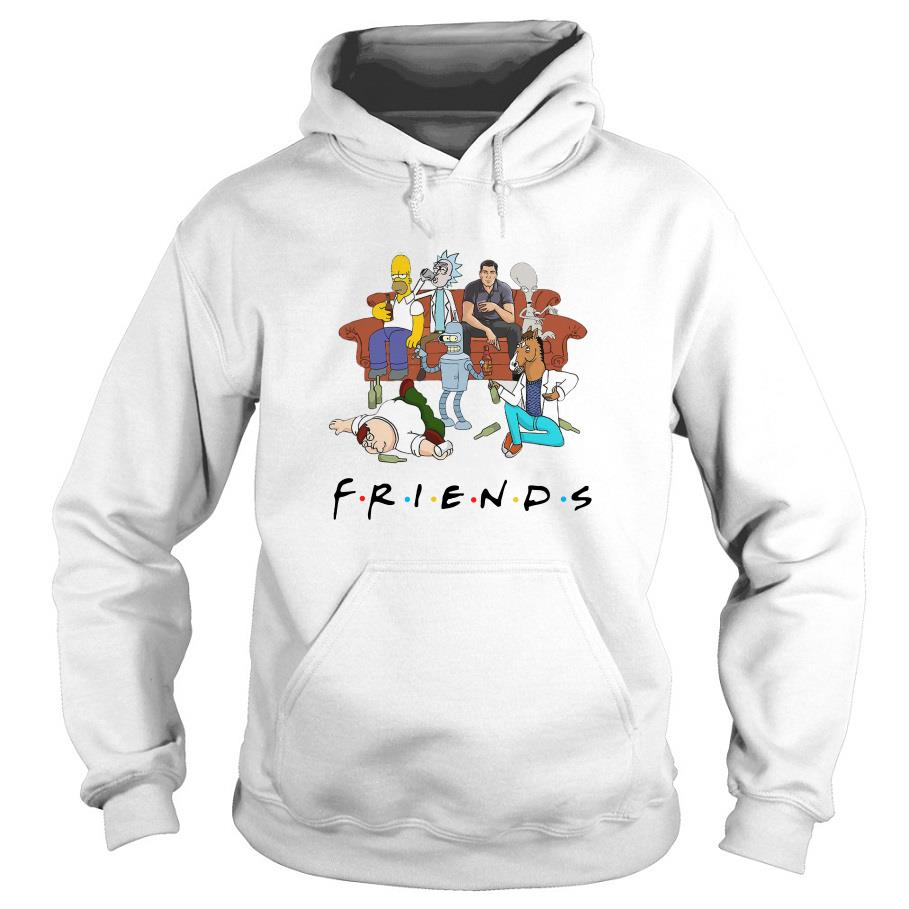 Rick and Morty Pete and Roger friends Hoodie SFA
