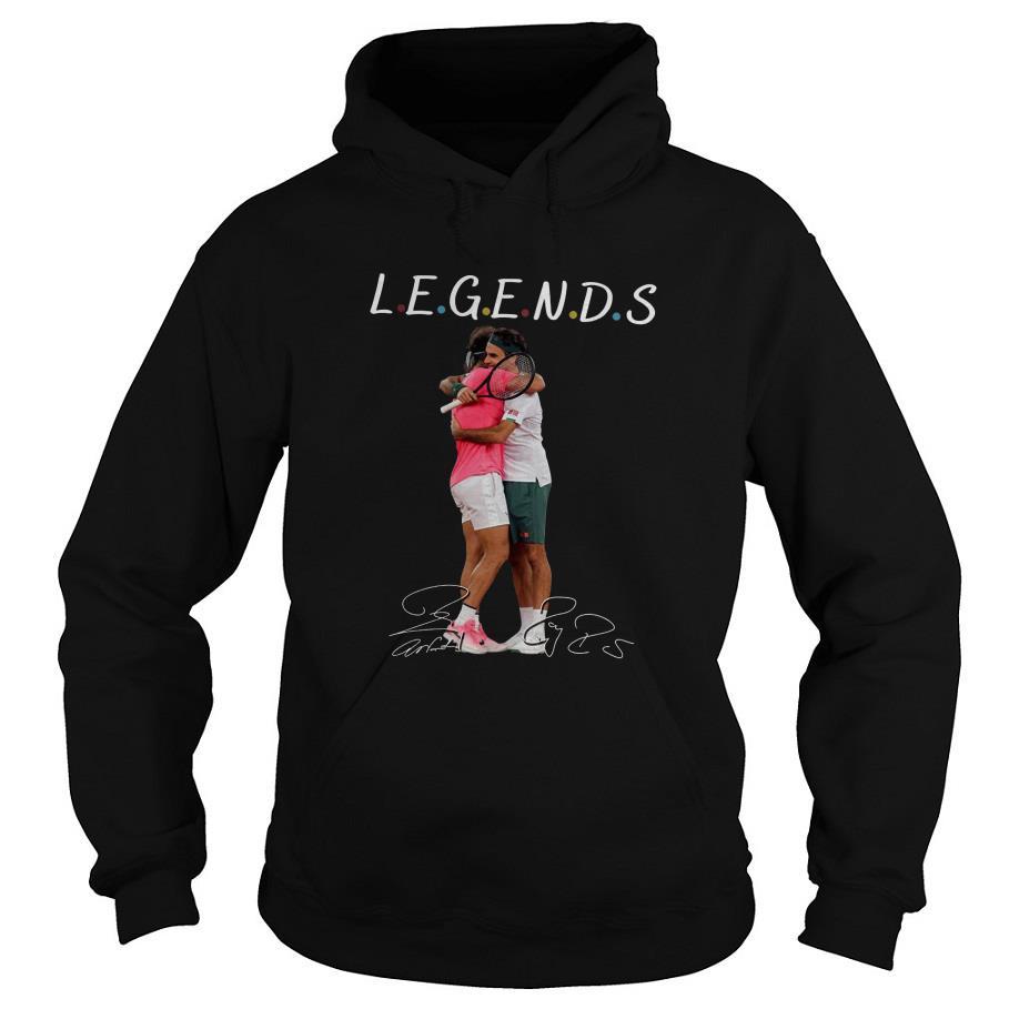 Roger Federer rafael nadal Legend Tennis Hoodie SFA