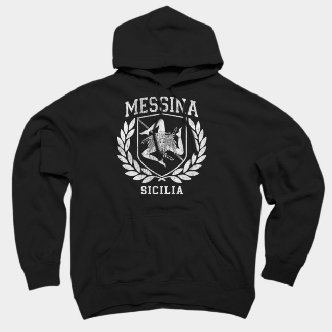 Sicilia Flag and Shield Hoodie SFA