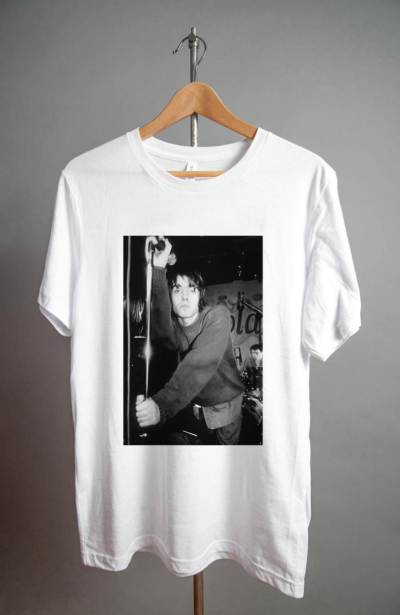 Liam Gallagher Pose Oasis T Shirt NA