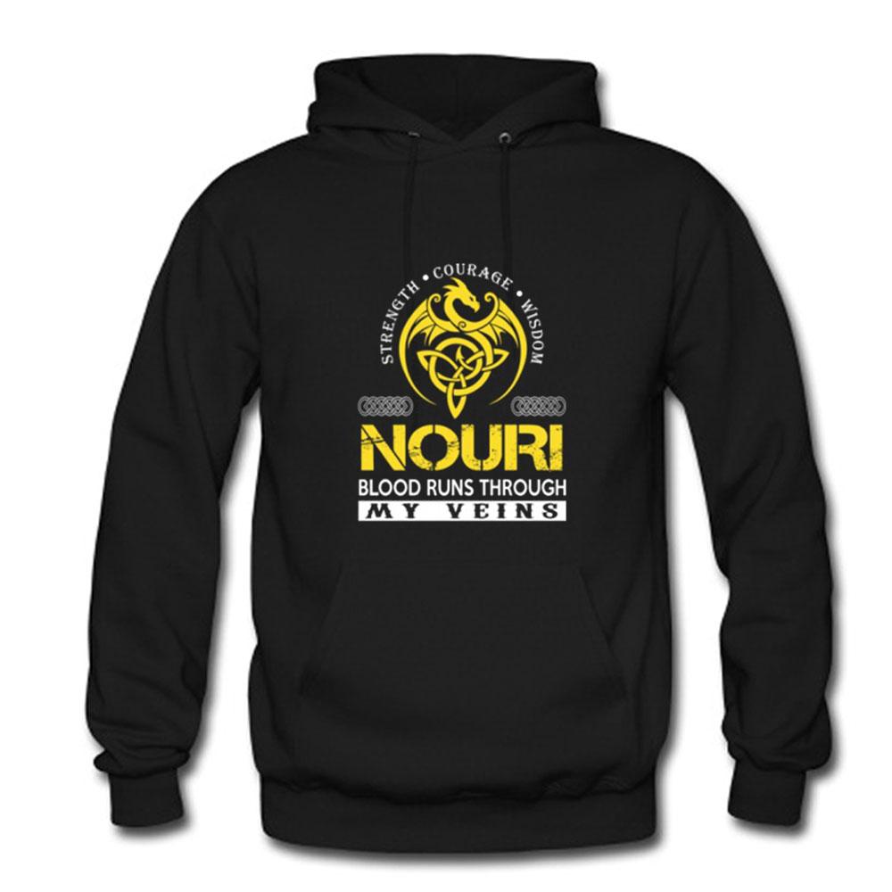 NOURI – Blood Runs Through My Veins Hoodie NA