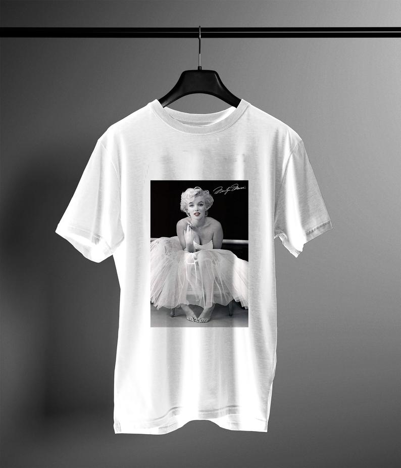 marilyn monroe ballerina t shirt NA