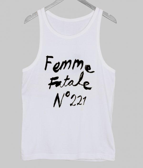 Femme Fatale No 221 tank top NA