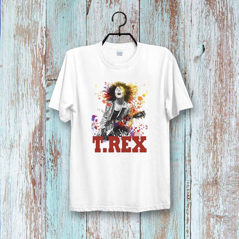 T.REX Rock Band Mark Bolan Music t shirt NA